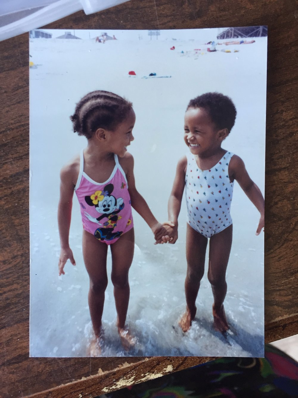 Chemin and Jamila Reddy (Ages 4 and 3), Myrtle Beach