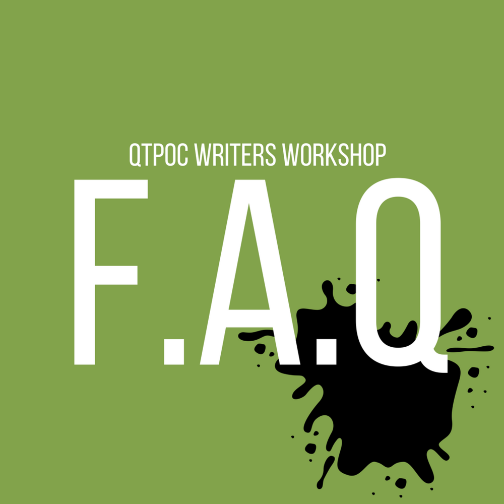 QTPOC Writers Workshop FAQ Square.png