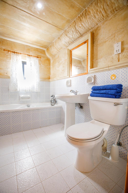 Bathroom of twin bedroom