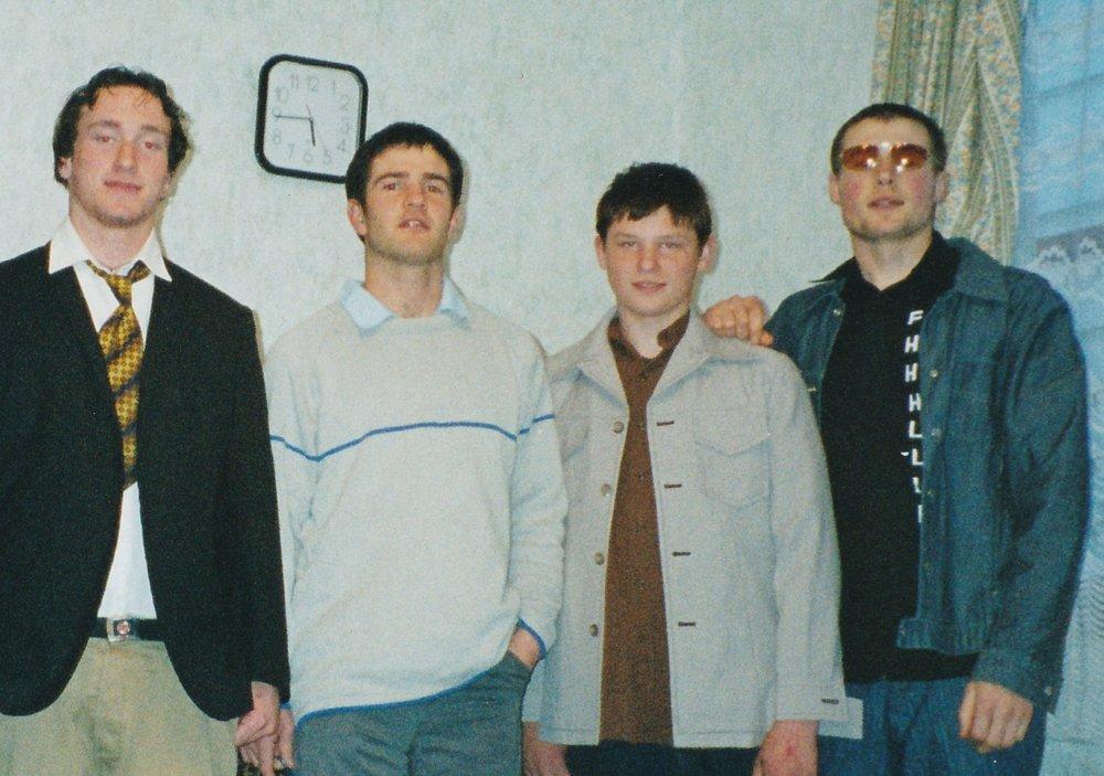 Newtown Boys Home. Matt far right.Source: Matt Lamason
