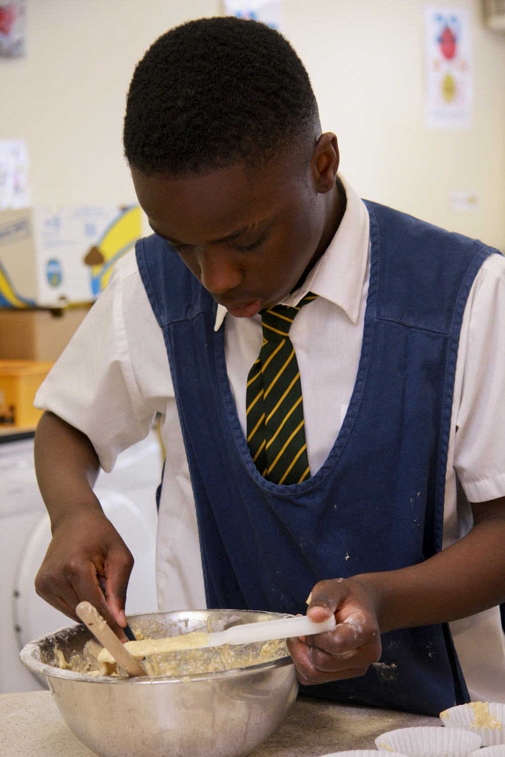 Middle & Secondary Cooking Club - Monday & Wednesday, 3.15-4.15pm
