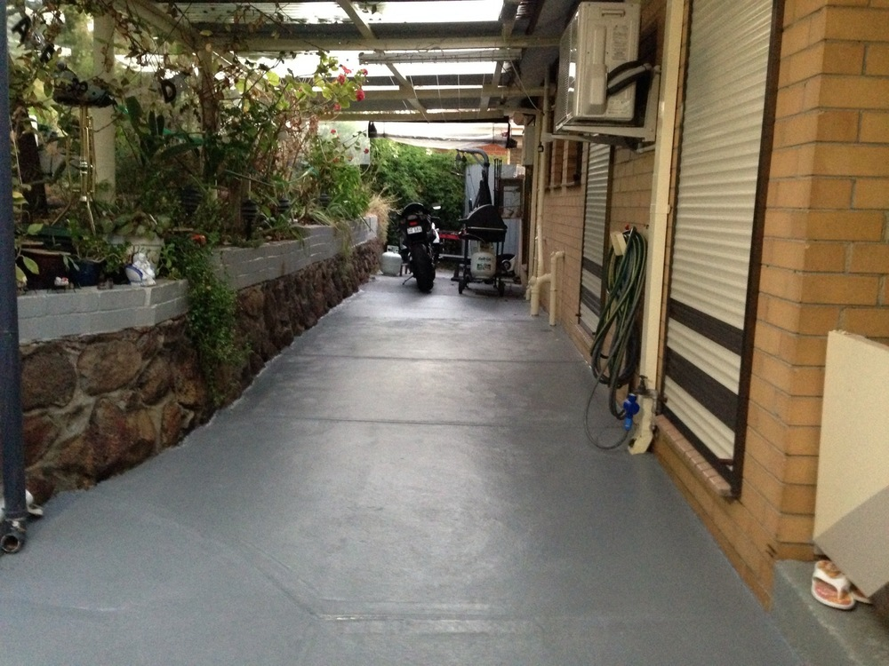 Painted Patio