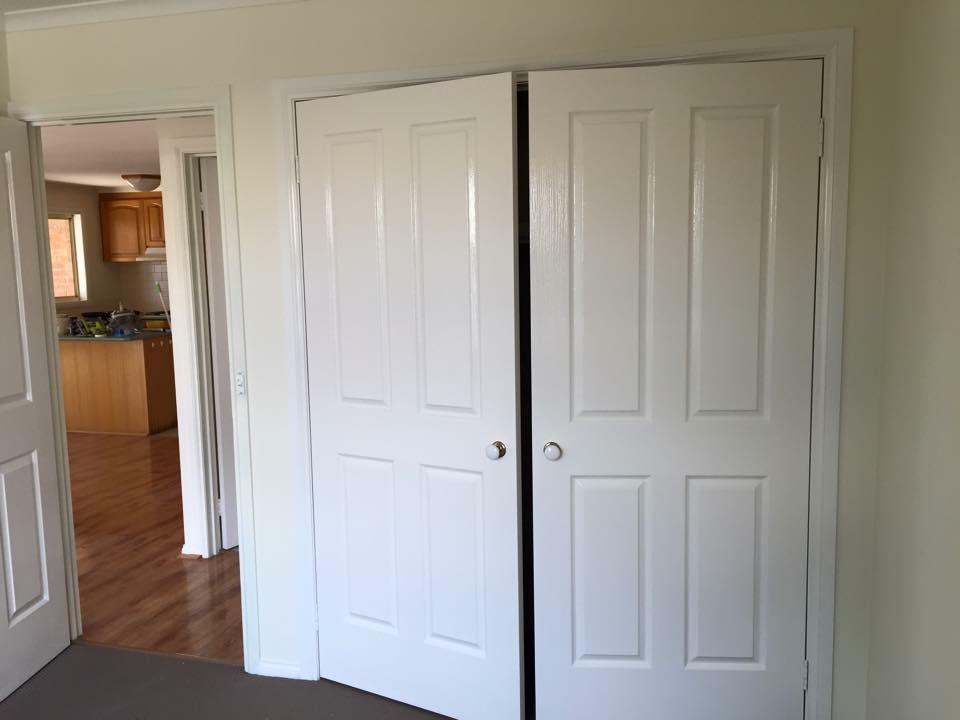 Painted Closet Doors