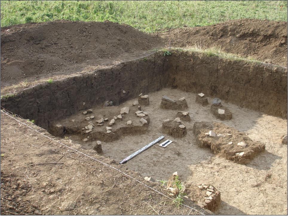 Fig.11. View of the pottery shards zone.