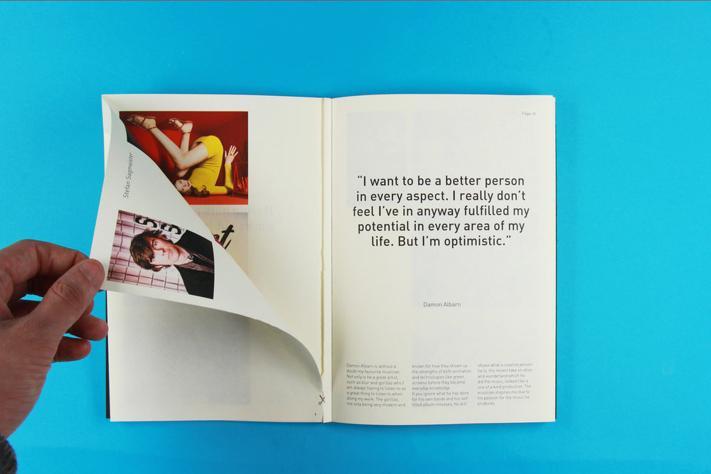 Quotes and Culture _ Editorial, Typography, Paper Mechanics, Photography View Project