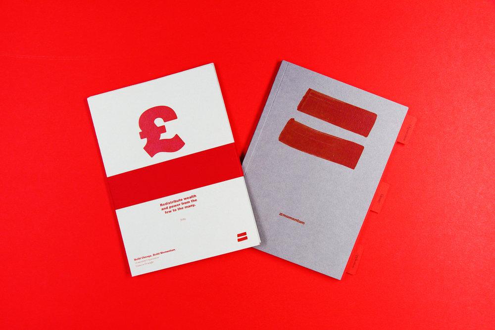 Momentum _ Branding/Identity, Editorial, Typography, Ethos View Project