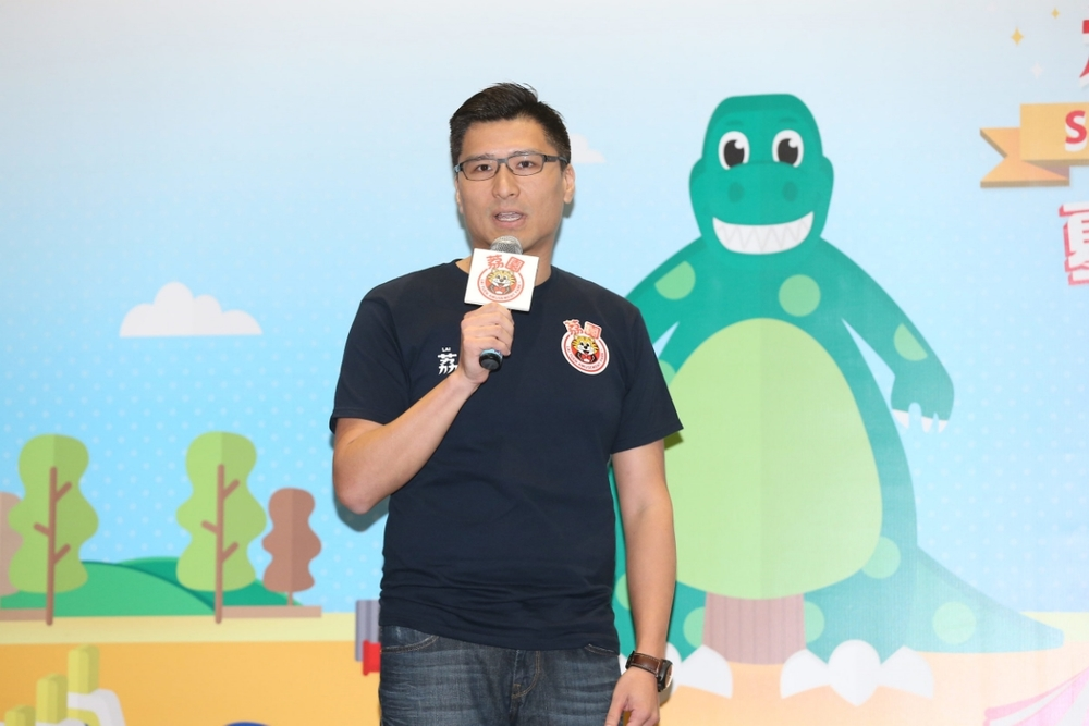 """Duncan Chiu, chairman of Lai Yuen Amusement Park Limited, introduces a series of brand-new and diversified games and activities for """"Lai Yuen Super Summer 2016""""."""