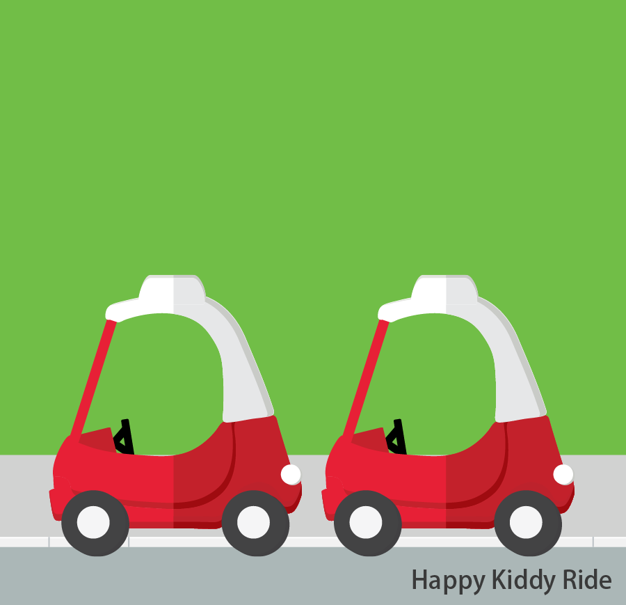 Happy Kiddy Ride So there you go kids, driving experiences just for you! Height restrictions: Children 110cm or above will be prohibited. Token(s) required: 3