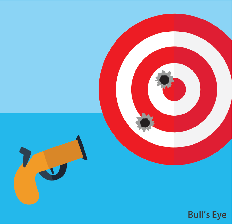Bull's Eye  Successfully shoot within the target range and reach a specified total score to win a prize. Token(s) required: 2 (for 6 bullets)