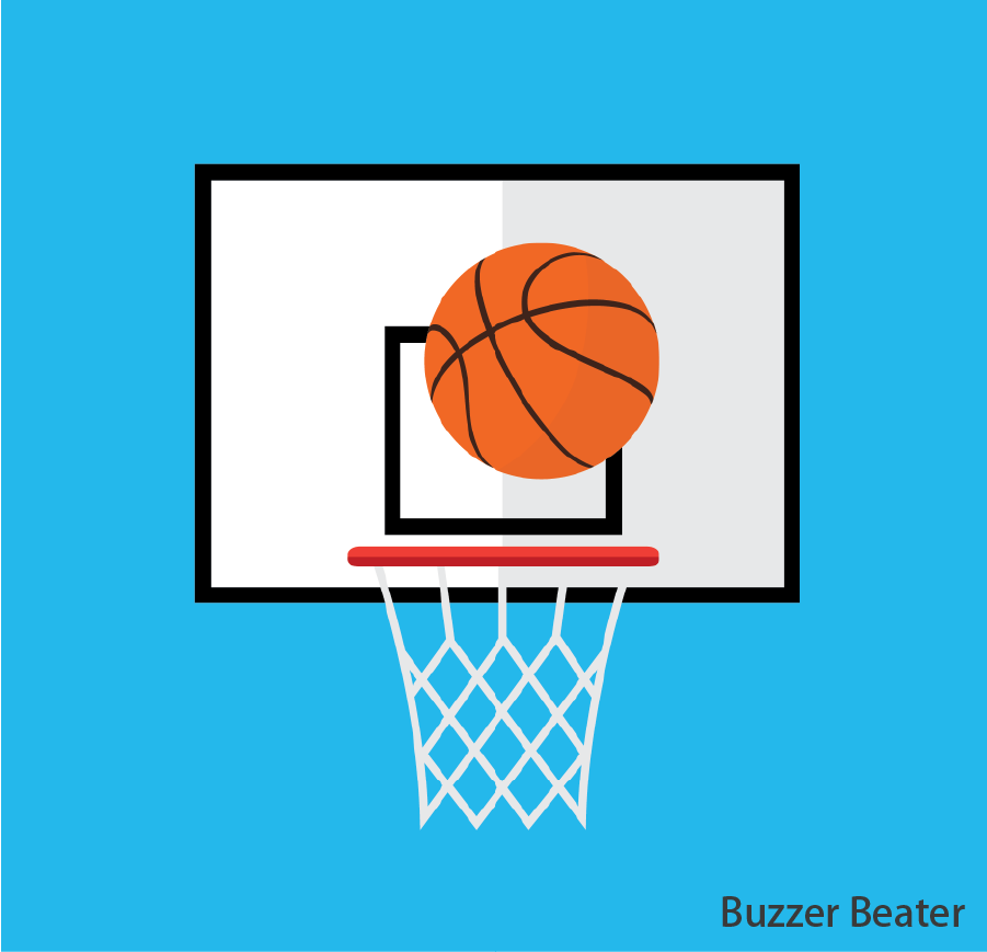 Buzzer Beater  Throw the basketball into the basketball net to win a prize. Token(s) required: 2 (for 4 basketballs)