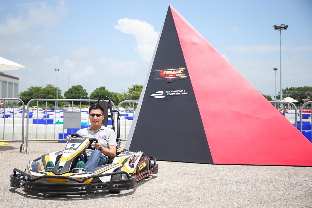 "Mr Duncan Chiu, Chairman of Lai Yuen Amusement Park Limited, hopes to employ a new angle to exemplify Lai Yuen's mission of ""keeping up with the times"" and introduce another ""first"" to local entertainment through 'Innovation'. As such, Lai Yuen has introduced XRace, Hong Kong's first electric go-kart facility."