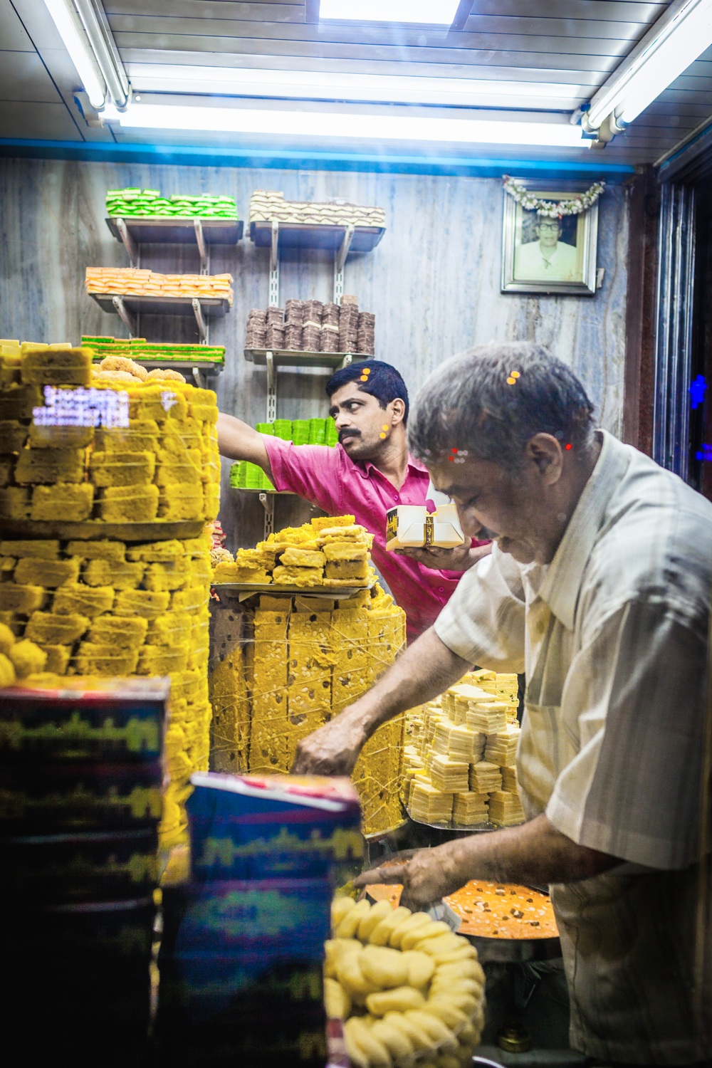 Guru Sweet Mart, Mysore ( for The Guardian )