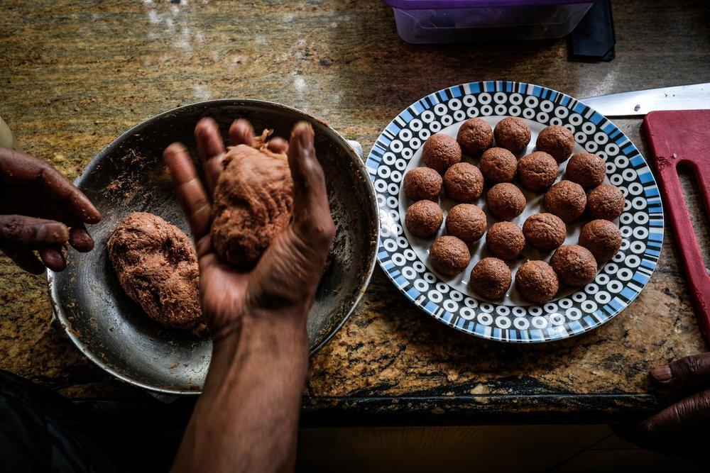 Kayastha food, Delhi  for National Geographic Traveller