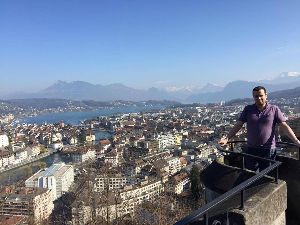 Lucerne, Switzlerland, March 2017