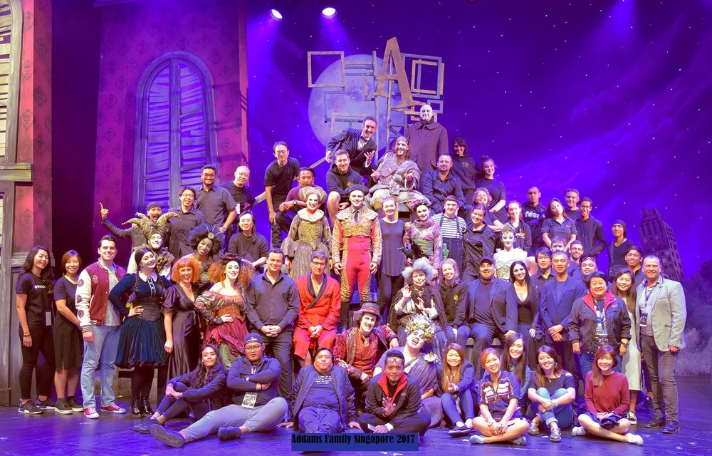 The Addams Family Singapore Company 2017