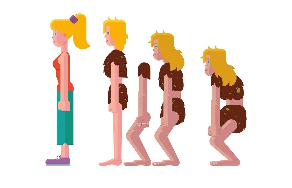 cave woman evolution poses2.jpg