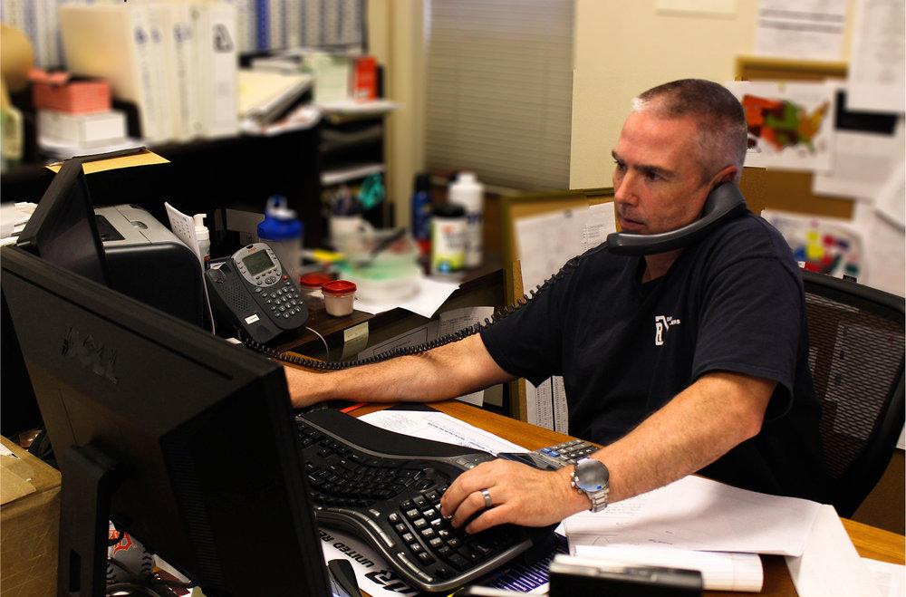 Tom Bartlett, Technical Support