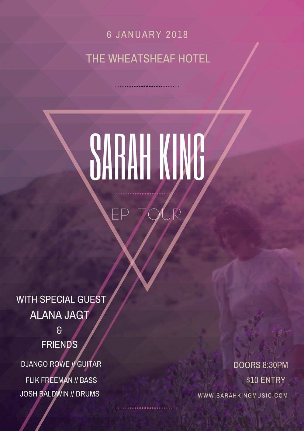 Sarah King EP Tour THE WHEATY JPG.jpg