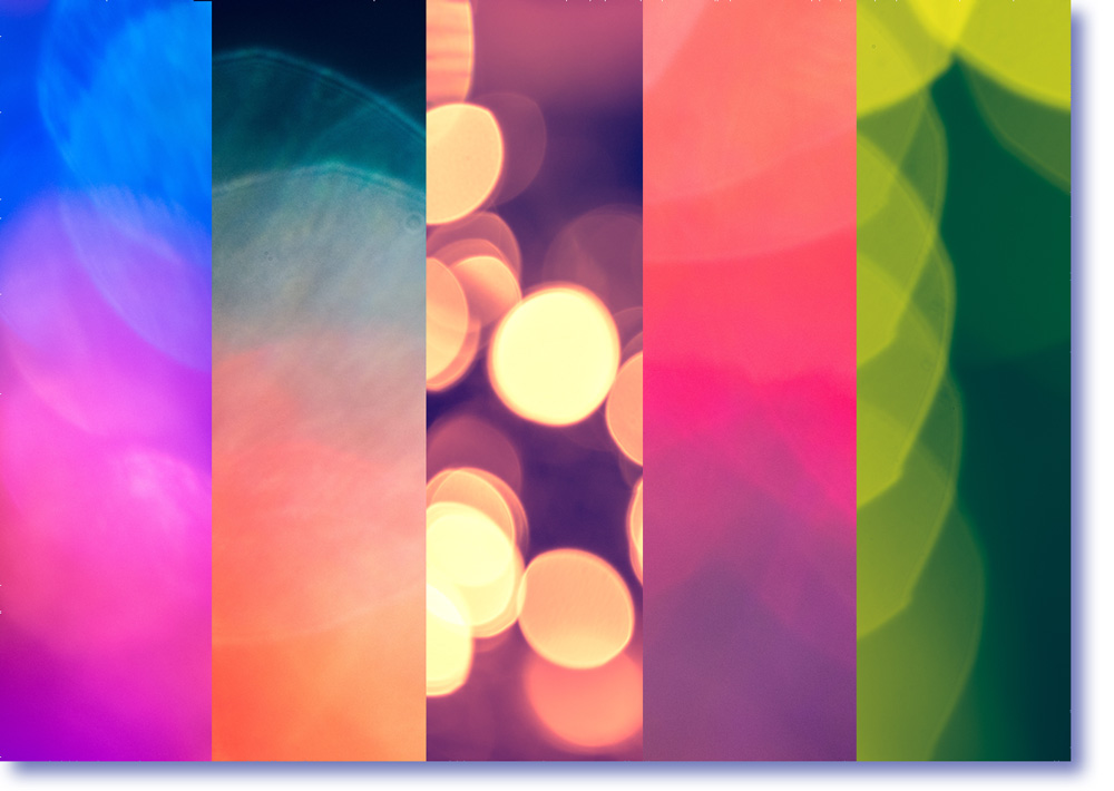 BOKEH BACKGROUNDS - 150 studio quality light effect backgrounds. Free to use for personal projects as well as commercial work