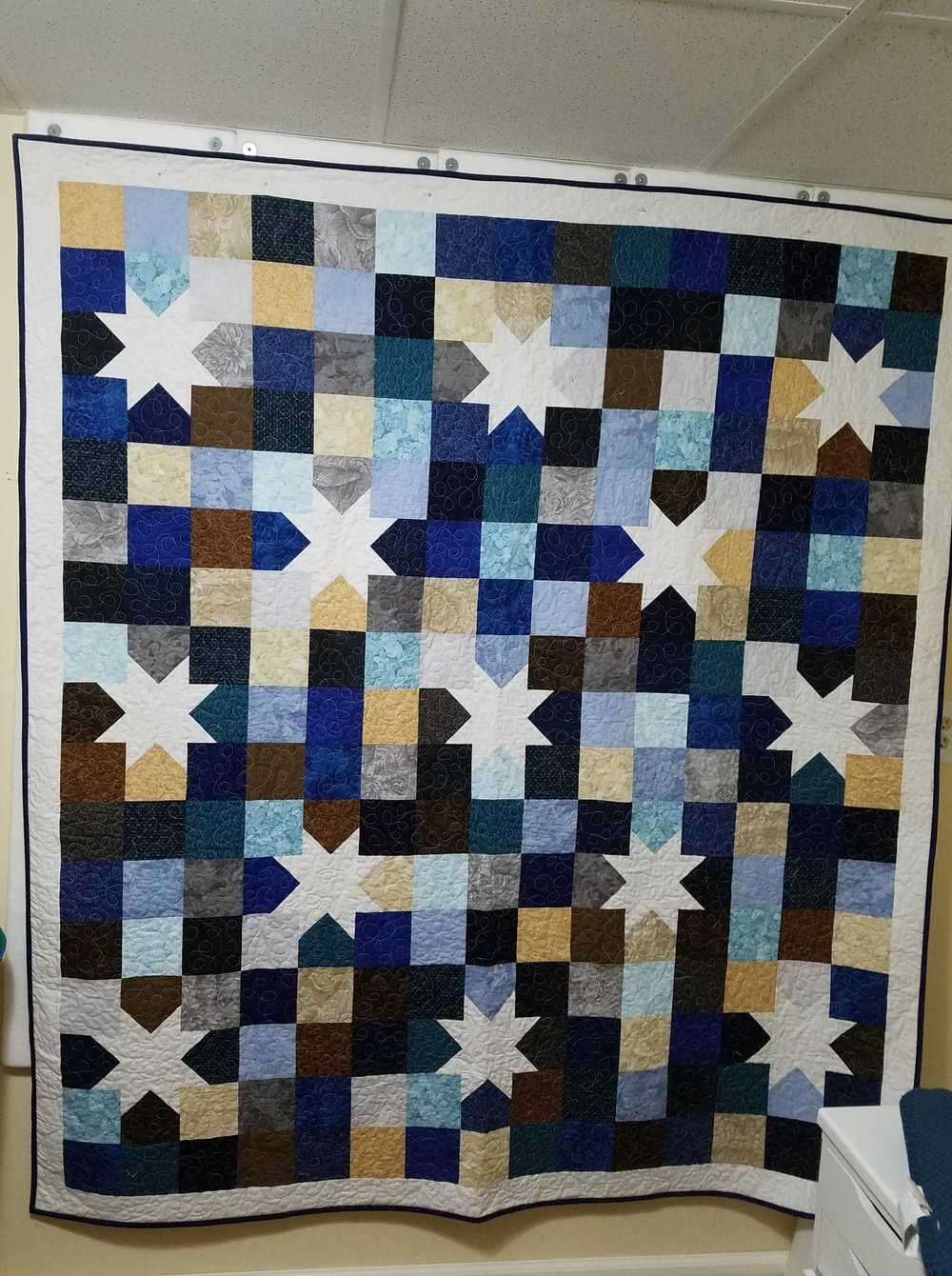 A quilt I made for my brother