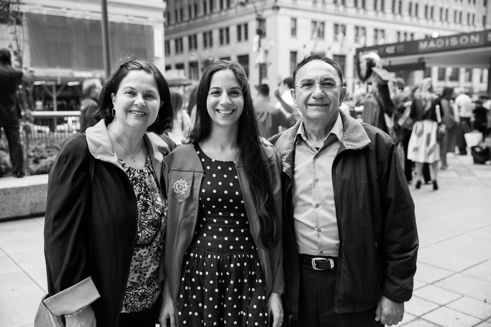 Graduation from SVA, New York, NY, 2014