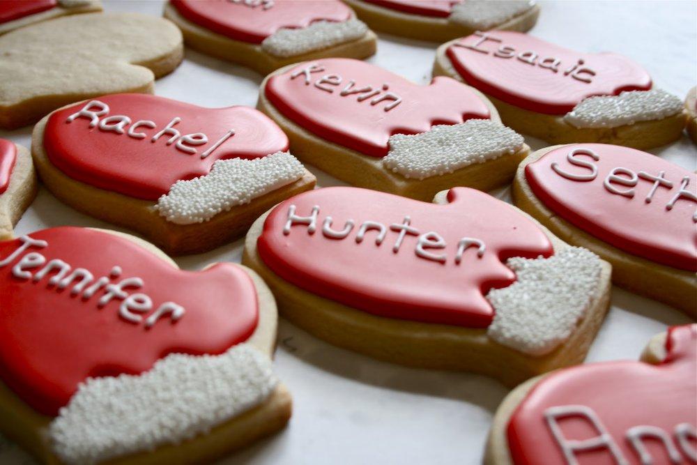 Pop Star Party Cookies