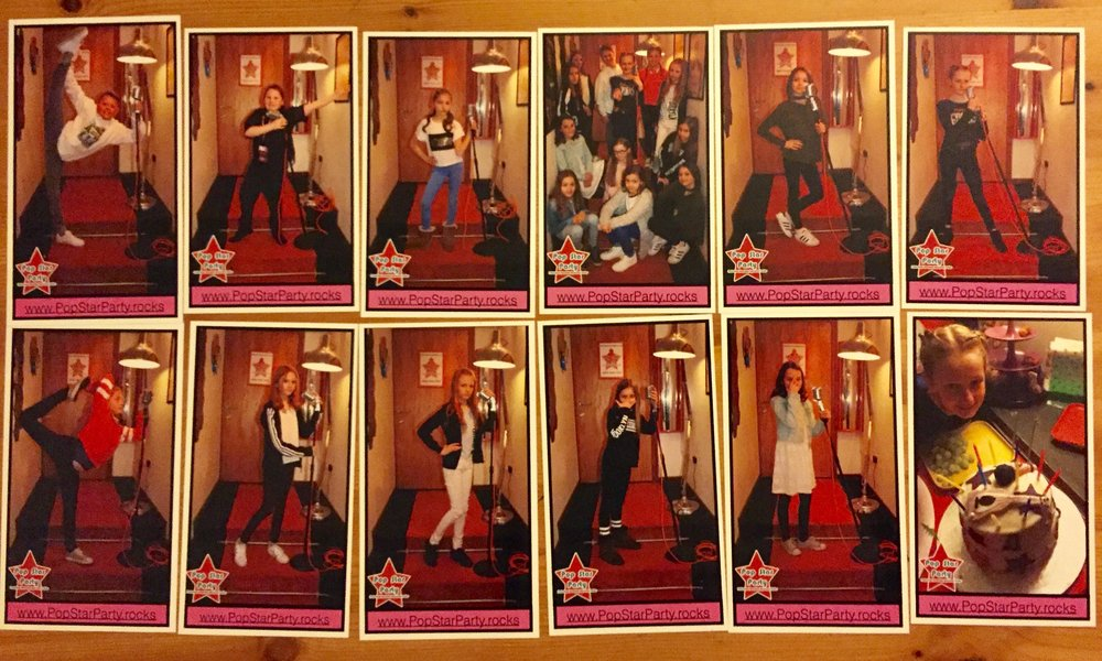 Pop Star Party individual prints