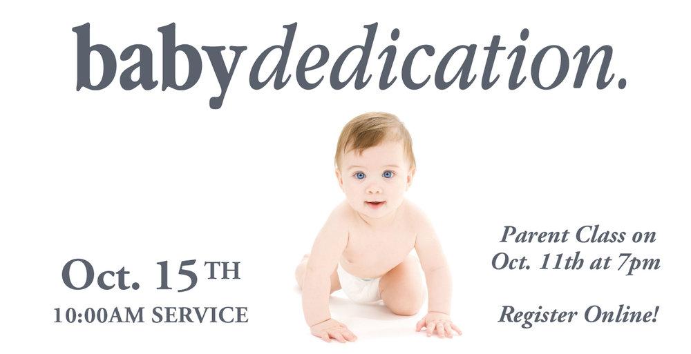Baby Dedication South Shore Community Church
