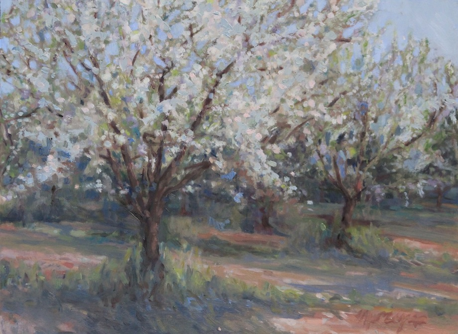 Blossoms of May-oil-12x16-$650.jpg