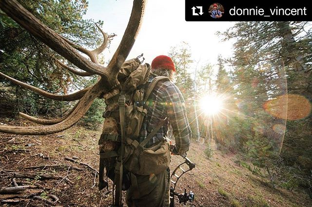 """Step one: Put in the work. // @donnie_vincent dropped a whole hell of a lot of wisdom on life and the art of living it in my @menshealthmag story about him and his craft. Read it via the link in his bio.  #Repost @donnie_vincent (@get_repost) ・・・ """"You can't see that elk from below. This isn't the easy way, but we found this bull because we hiked all the way up here. That's step one: Put in the work."""" Read the full story featured in @menshealthmag now available online. [Link in bio ➡️ @donnie_vincent] #EarnYourProtein #menshealth #elkhunting #bowhunting"""