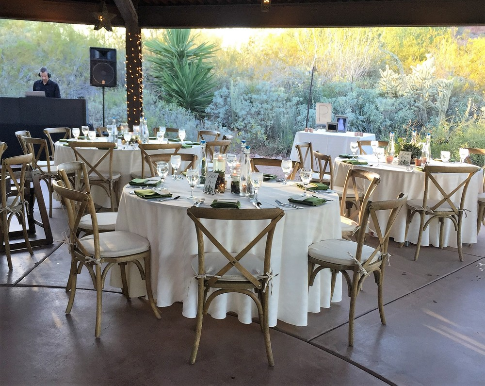 OUR SERVICES HAVE BEEN NATIONALLY RECOGNIZED   by WeddingWire, The Knot & Arizona Bride Magazine.