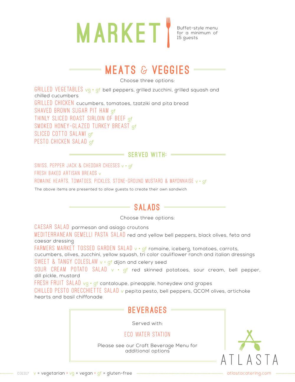 Atlasta Catering - Market