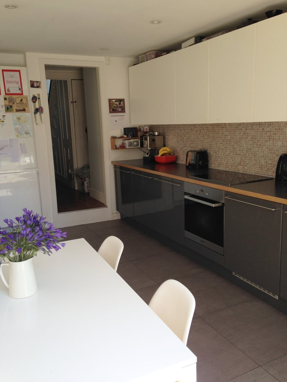 Transformed kitchen