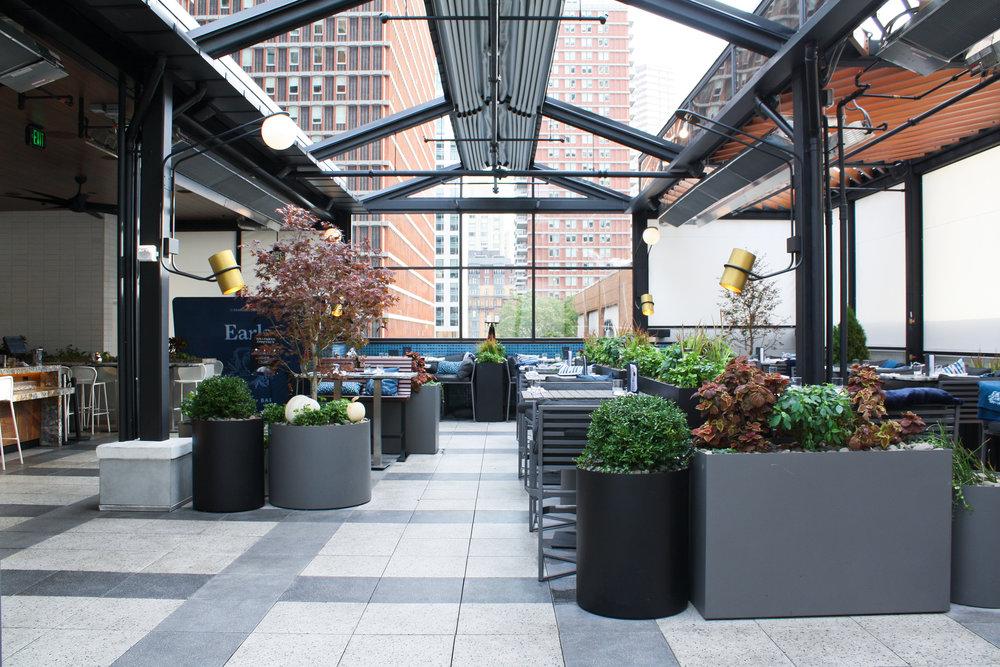 RecoverGreenRoofs_Earls_2017__5820. Commercial. Earls Prudential Rooftop  Patio