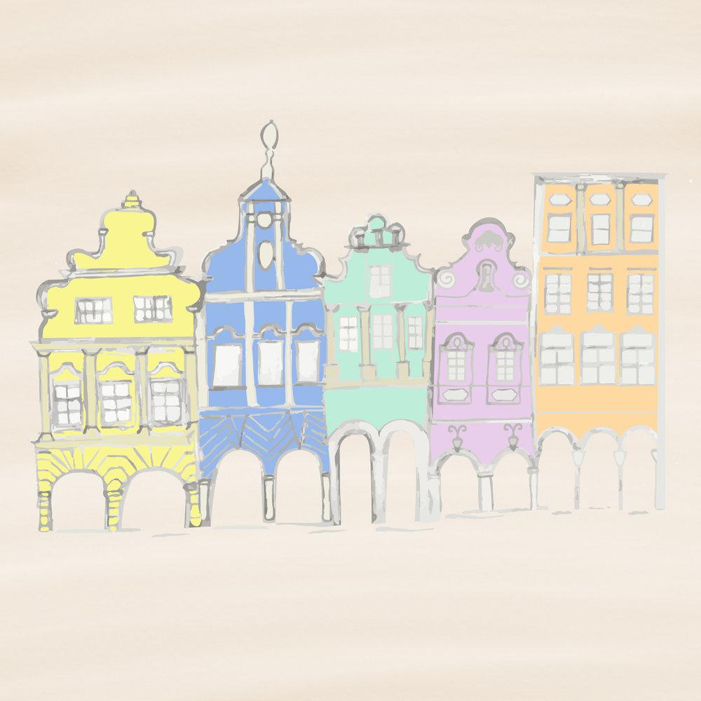 Telc houses illustration - jpg.jpg