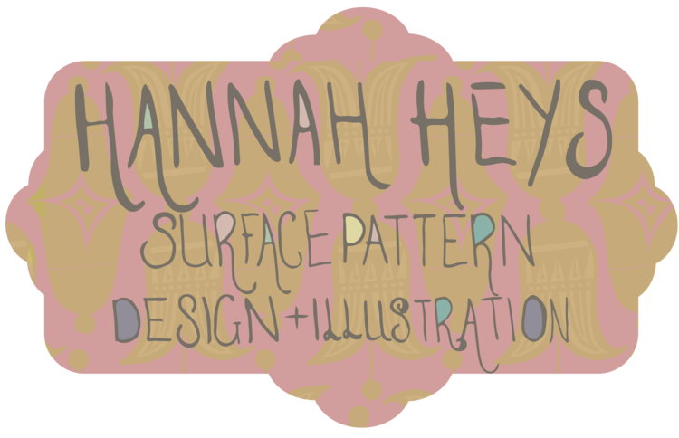 Hannah Heys, Surface Pattern Design & Illustration - One Off Works