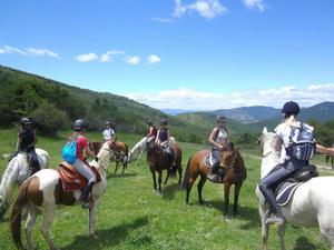 HORSE RIDING CAMP IN SPAIN