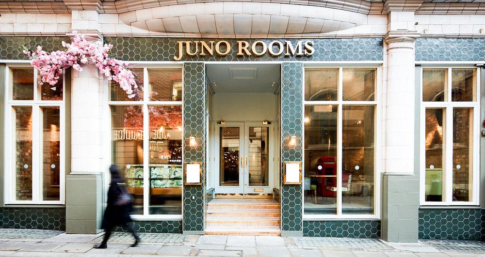 JUNO ROOMS  Watling Street   VIEW WEBSITE