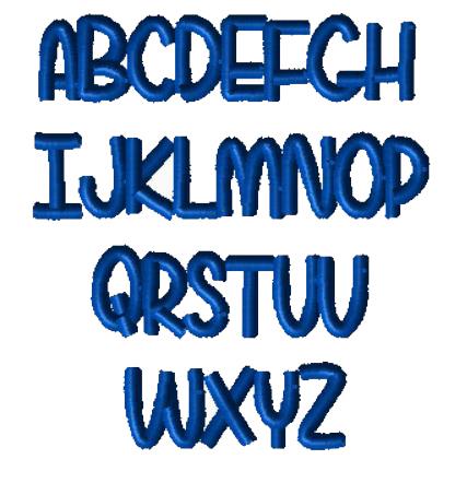 """""""U"""" font"""