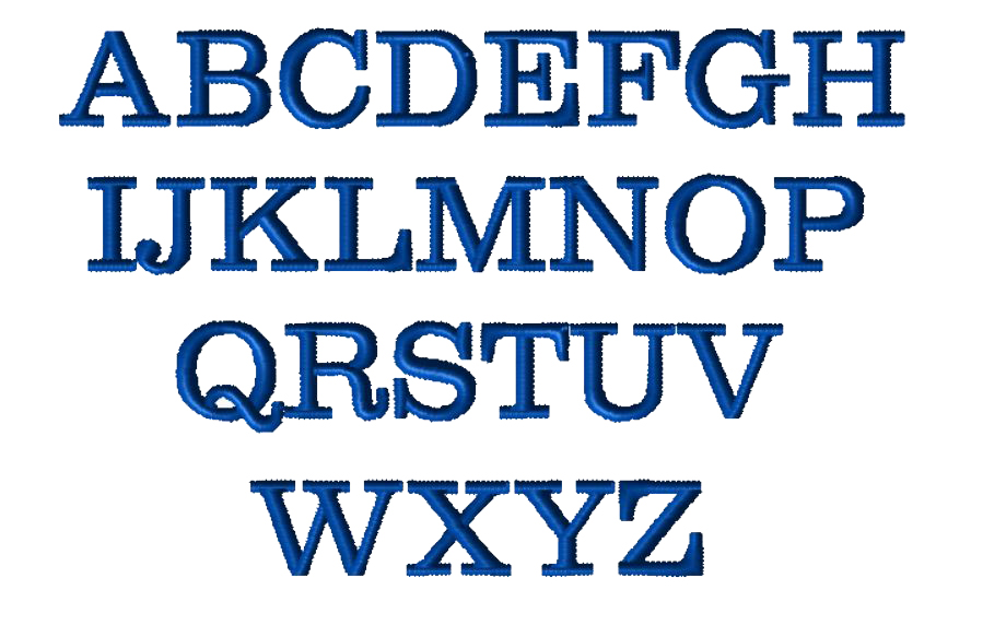 """O"" font"