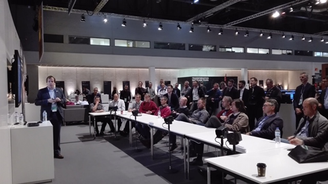 Dr. Heinz-Herman Adam leads a standing-room only Connect Tech Forum at HPE Discover Madrid about how the University of Münster uses 3PAR in their multi-tier storage strategy.