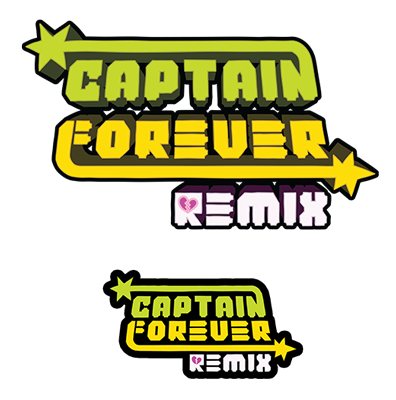 Smaller versions of the final logo