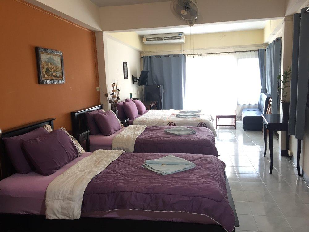Zimmer H (Familiezimmer)