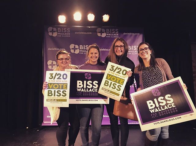 Election Day is TOMORROW! Get out there and vote for BISS! #BissForIllinois #BissPlease