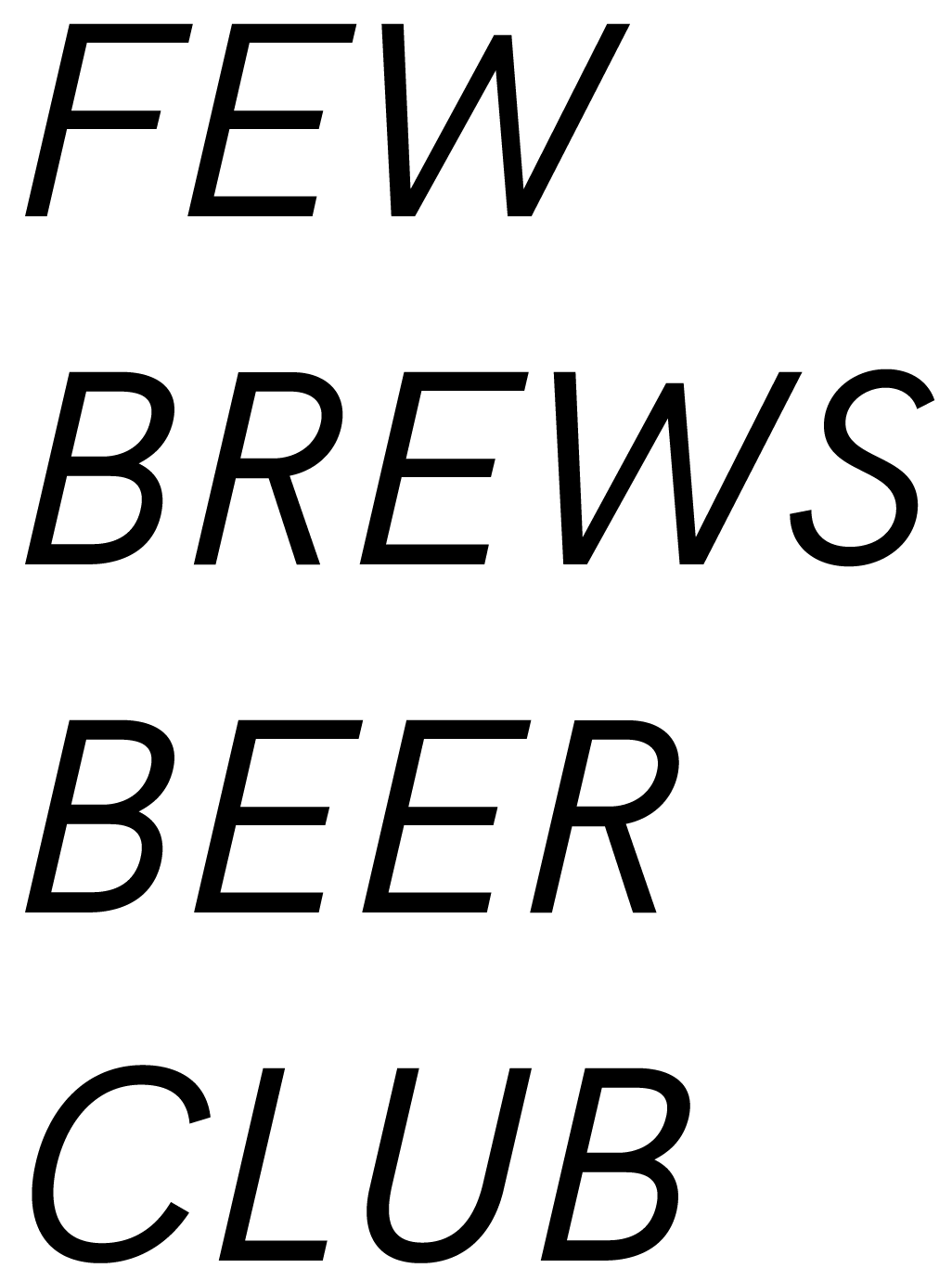 Few Brews Beer Club