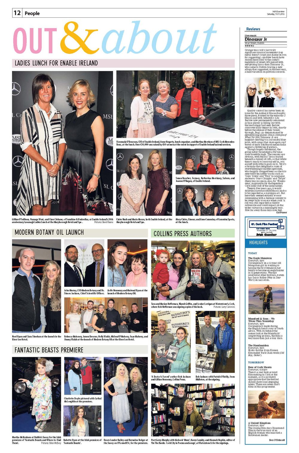Irish Examiner Product Launch 2016