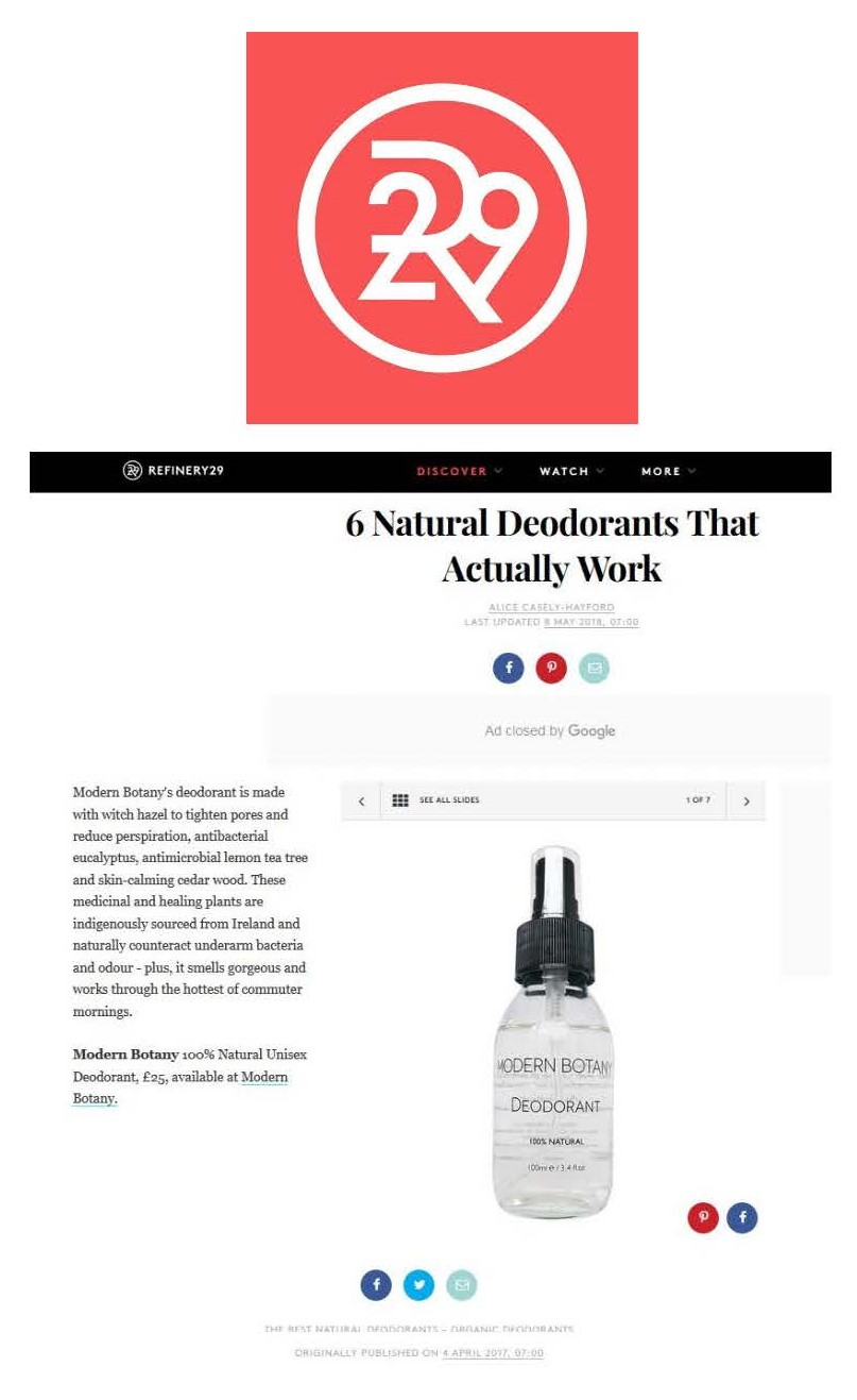 Refinery 29 UK Online May 2018