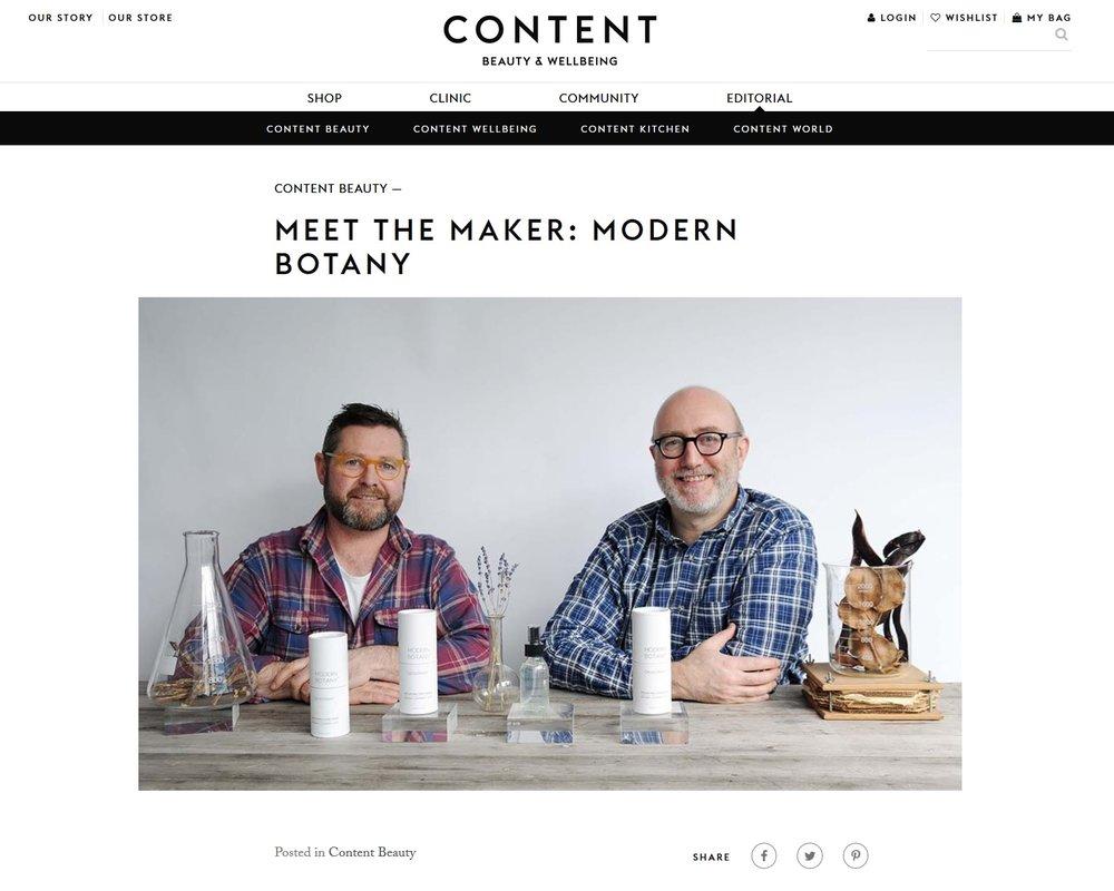 Content Beauty Blog UK June 2018