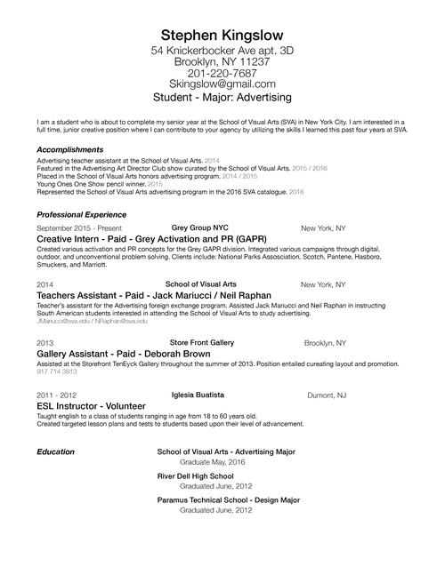 Resume lesson plan esl – Sample Resume for Esl Teacher