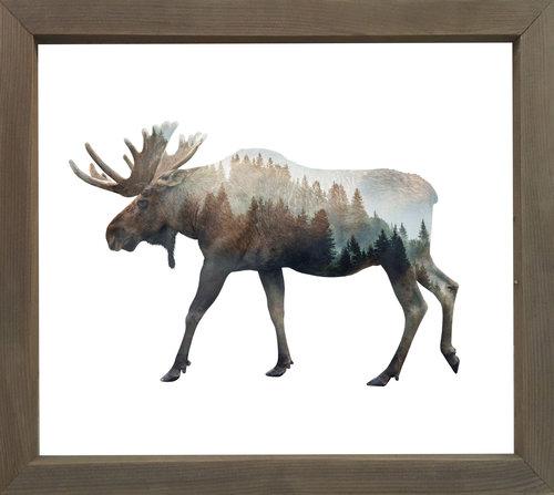 Forest Moose — Cedar Mountain Studios